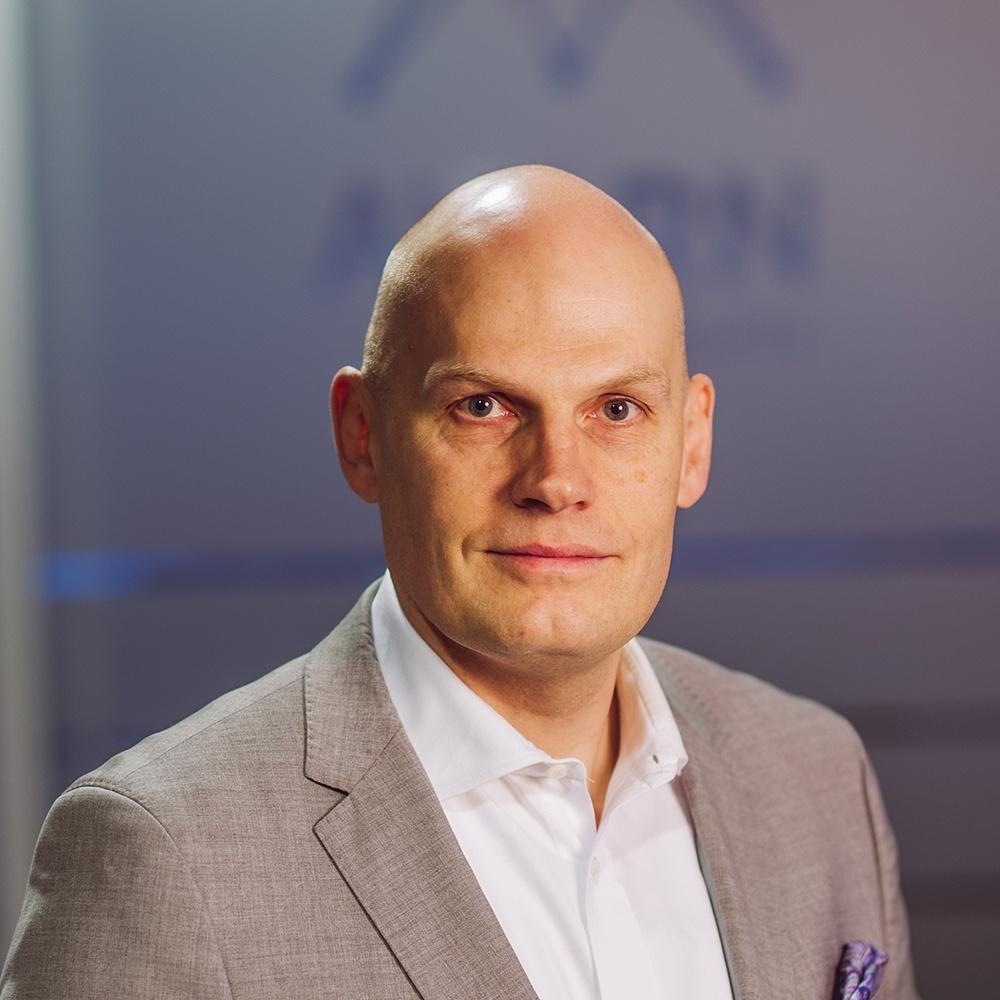Tom Keskinen, talous- ja palkkahallinto, AVARN Security