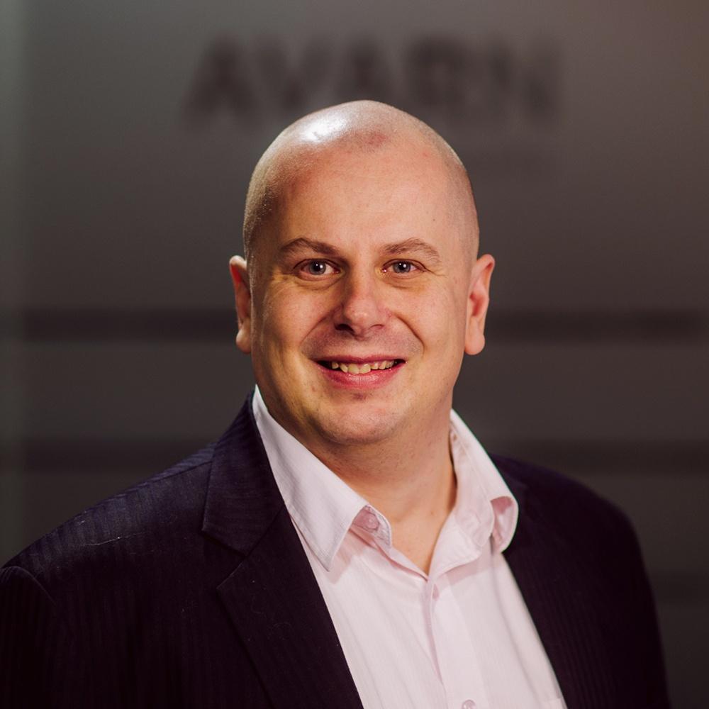 Kaj Ignatjew, johtaja, hälytyskeskus, asiakaspalvelu ja turvatekniikka, AVARN Security
