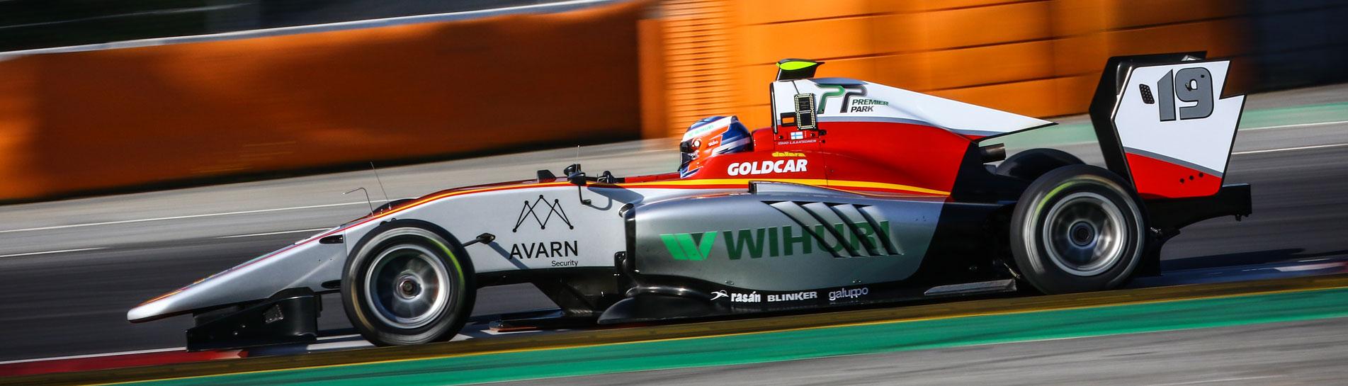 Avarn Security tukee GP3-kuljettaja Simo Laaksosta