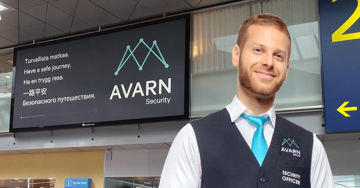 AVARN_Security_Finavia_turvallista_matkaa